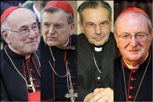 """Czterej opozycyjni """"kardynałowie"""" Novus Ordo"""
