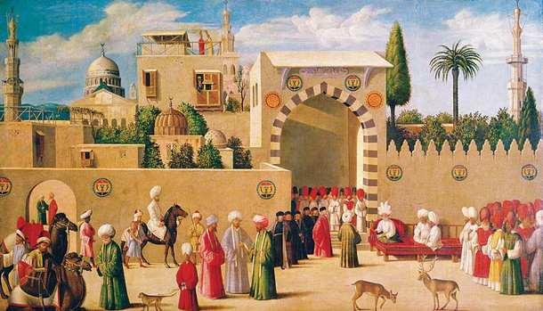 Muzułmanie i Wenecjanie