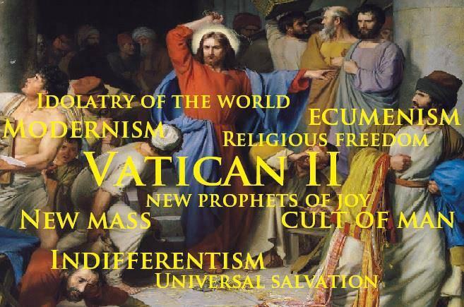 Fałszywy kościół soborowy (Vaticanum II)